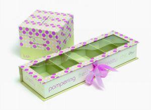 Het elegante Vakje van de Verpakking van het Pakket van het Document voor Gift