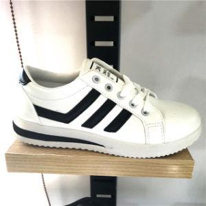 La moda casual la ejecución de los zapatos deportivos Zapatos de skate zapatos de ocio para mujeres y hombres (YJ18111-3)