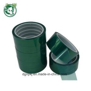 Bestand PCB Op hoge temperatuur van de hallo-Temperaturen van de Band van het Silicone van de Band van het huisdier galvaniseren Groene Groene Afplakband