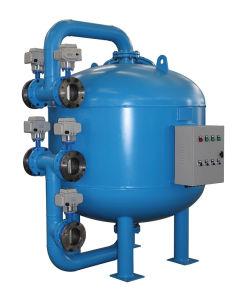 Système d'eau industrielle côté filtre à sable peu profonds de flux