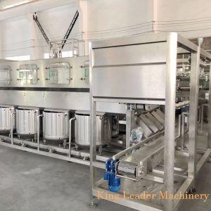 600bph 5개 갤런 Barreled 병 순수한 물 충전물 기계