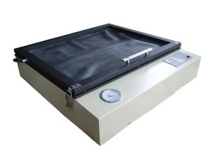 Facile registrando 4 insiemi completi dello schermo della tessile del tessuto della stazione di colore 4 della macchina rotativa della stampante