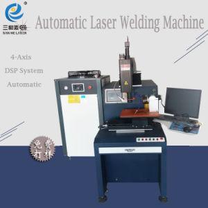 YAG Laser máquina de soldar com a mão do Robô