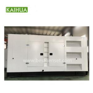 gruppo elettrogeno diesel di Doosan del baldacchino insonorizzato 500kVA/400kw