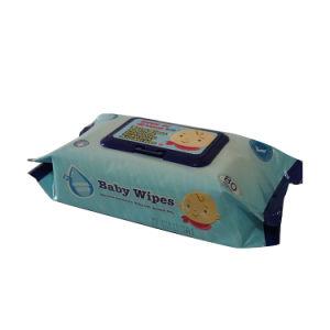 Geweven Natte Baby Spunlace van de fabriek 45GSM veegt de niet af