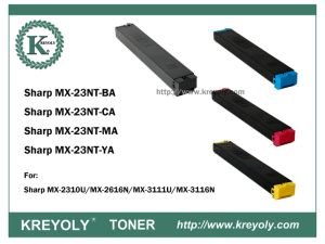 Kosten sparende kompatible Farben-Toner-Kassette des Scharf-MX-23