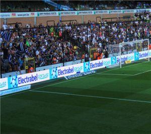 IP65 передних и задних быстрого обслуживания системы блокировки P10мм по периметру футбольным стадионом светодиодный дисплей