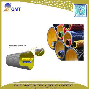 16-63mm PP PE PVC única espiral de alambre de acero corrugado doble pared de maquinaria de extrusión de tubos de plástico
