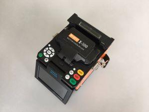 Shinho X.500 FTTH/FTTX sondern aus optischen Fasernschmelzverfahrens-Filmklebepresse aus