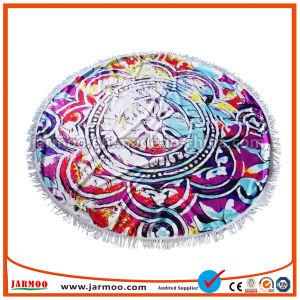 大きい150X150cmカスタム昇進の綿の円形のビーチタオル