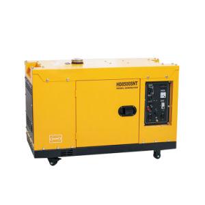 Super 6.5kw silencio grupo electrógeno diesel