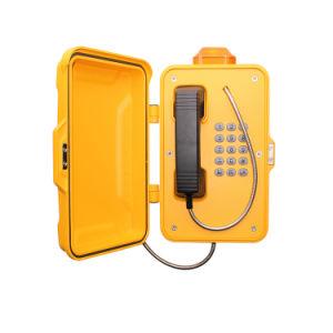 Промышленный светодиодный светильник с SIP GSM тяжелых Sos телефон экстренной связи