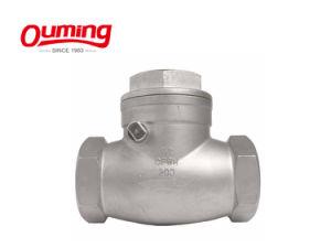 Aço inoxidável RF Válvula Borboleta sanitárias fixadas para o grau alimentício