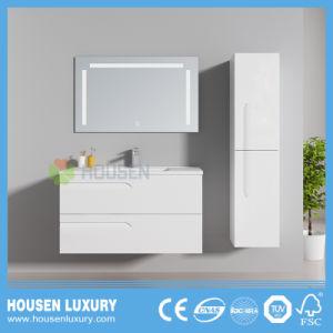 2018 Nueva pintura de alto brillo suave cajón abierto cuarto de baño HS-D1116-900