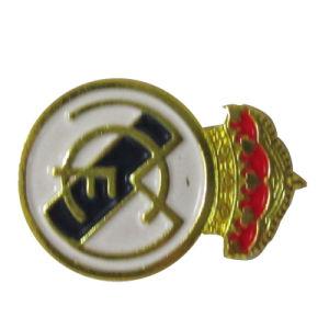 カスタム金2匹の蝶クラッチ(046)との終了する車のロゴの記念品の金属胸の折りえりPin