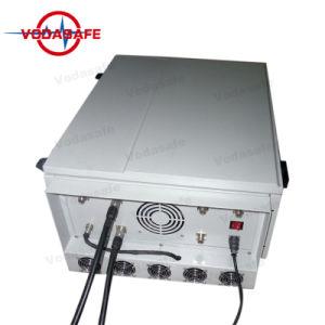 Sistema de Bloqueio da prisão de alta potência Uav Drone /Jammer/Blocker Potência total de saída: 600 W; o raio de cobertura: 100-300 m, 3G Jammers CDMA GSM