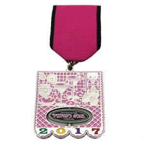 カスタム昇進は停止する打たれた真鍮の金属の方法バッジメダル(005)を
