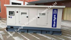 Dieselmotor-elektrischer Generator-schalldichter Kabinendach-Typ Volvo-Tad733ge, der Set festlegt