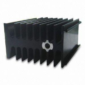 Цвет Anodizing Radiateur En алюминиевый теплоотвод с вентилятором для бытовой электроники