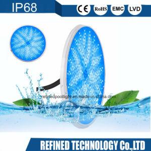 12V 24V de color blanco de color RGB Lamparas de LED Piscina