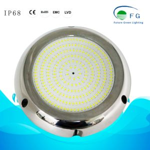 IP68 316ss樹脂によって満たされる18W黄色いLEDのプールライト