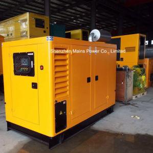 125kVA 100kw de potencia en espera de dosel silencioso generador diésel Cummins