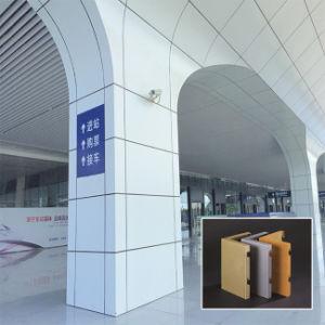 La Chine, revêtement de poudre de fournisseur de matériaux décoratifs en aluminium Panneau au plafond