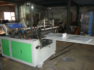 Hitte verzegelen en Koude Scherpe Plain Bag Making Machine