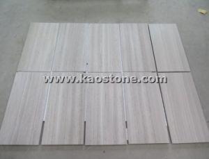 Pavimento Bianco Grigio : Legno bianco grigio di alta qualità venato il marmo per il