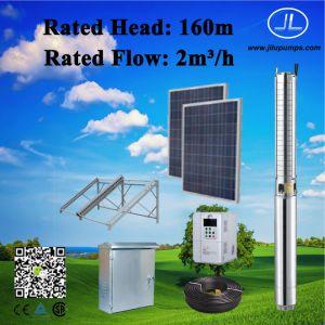 sistema di pompaggio sommergibile solare 4inch, sistema di pompaggio di CC 2.2kw