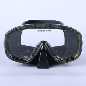 Factory Best Selling Professional revestimento de cor personalizada para adulto máscara de mergulho