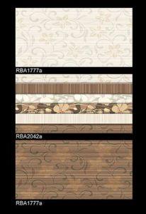 De Tegel van de muur - voor Badkamers die met Inkjet 250X400mm afdrukken