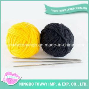 Vestuário de acrílico puro de tecelagem de fios de lã de fantasia personalizada