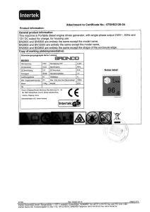 Оо сертификат Silent Air-Cooled дизельного генератора в три этапа (BN5800ДСЕ-3)