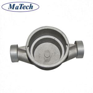 Revêtement en poudre personnalisé couvercle de soupape de moulage sous pression en aluminium