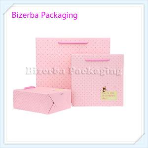 Sacchetto di carta stampato promozionale su ordinazione del regalo per imballaggio