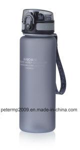 600ml 20oz garrafa de água de plástico, cinzento Sport Garrafa, Vaso de design e cores personalizadas