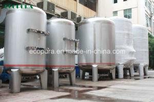 La ósmosis inversa de la planta de tratamiento de agua potable