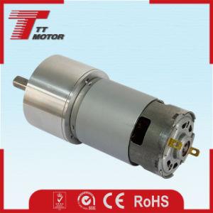 Eléctrica de bajo ruido de entretenimiento en casa 6V/12V/24V marcha del motor de CC