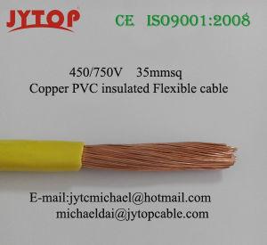Fio flexível com isolamento de PVC H07V-K com condutor flexível