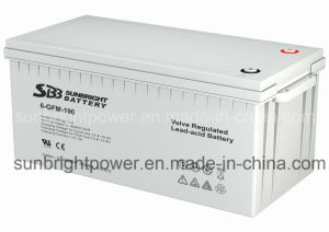 セリウムのRoHS ULとのSBB Transportation Equipment Battery 12V190ah