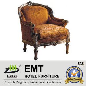 Star Hotel Furniture Chaise d'hôtel en bois (EMT-HC95)
