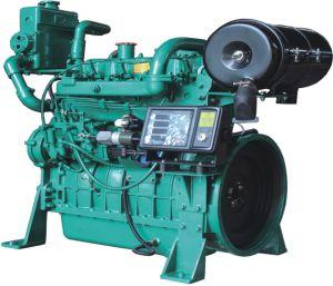 Dieselmotor van de Macht van Hengda 4j60c de Mariene met Cilinder 4