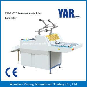 Высокое качество Полуавтоматическая машина для ламинирования пленки для бумаги