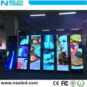 P3 bewegliche Digital Plakat-Media LED-Innenbildschirmanzeige