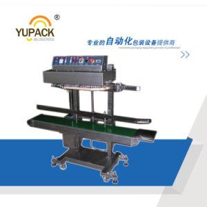 Une chaleur continue horizontale haute vitesse d'étanchéité avec du ruban de timbres de l'impression à chaud