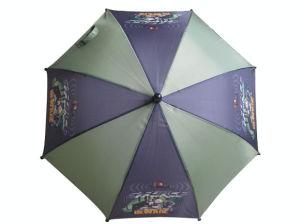 自動車の開いた子供の傘(CU003)