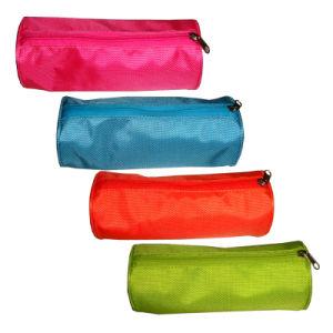 Runde Reißverschluss-Briefpapier-Bleistift-Beutel-Kasten-Tasche