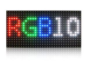 LED de la publicité en usine P10 Outdoor plein écran LED de couleur
