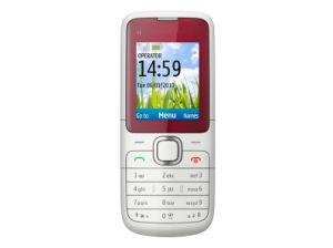 Teléfono C1-01 de la barra de caramelo del teléfono móvil para el teléfono celular original de Nokia